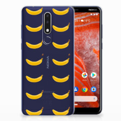 Nokia 3.1 Plus Siliconen Case Banana