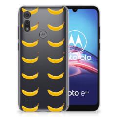 Motorola Moto E6s Siliconen Case Banana