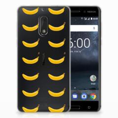 Nokia 6 Siliconen Case Banana