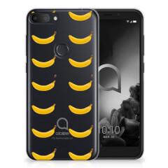 Alcatel 1S (2019) Siliconen Case Banana
