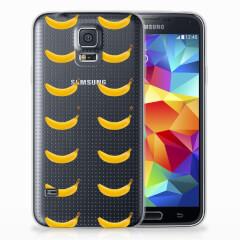 Samsung Galaxy S5 Siliconen Case Banana