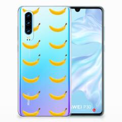 Huawei P30 Siliconen Case Banana