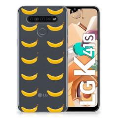 LG K41s Siliconen Case Banana