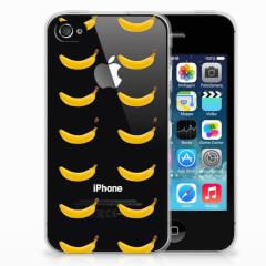 Apple iPhone 4 | 4s Siliconen Case Banana