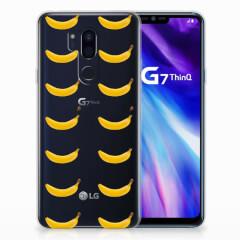 LG G7 Thinq Siliconen Case Banana