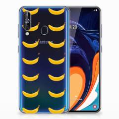 Samsung Galaxy A60 Siliconen Case Banana