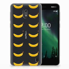 Nokia 2 Siliconen Case Banana