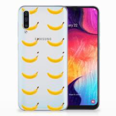 Samsung Galaxy A50 Siliconen Case Banana
