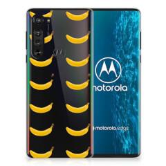 Motorola Edge Siliconen Case Banana