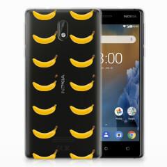 Nokia 3 Siliconen Case Banana