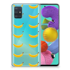 Samsung Galaxy A51 Siliconen Case Banana