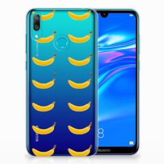 Huawei Y7 2019 Siliconen Case Banana