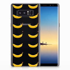 Samsung Galaxy Note 8 Siliconen Case Banana