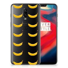 OnePlus 6 Siliconen Case Banana