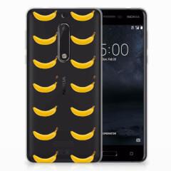 Nokia 5 Siliconen Case Banana