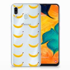 Samsung Galaxy A30 Siliconen Case Banana