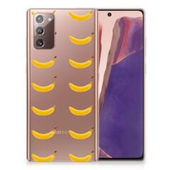Samsung Note 20 Siliconen Case Banana