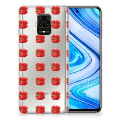Xiaomi Redmi Note 9S | Note 9 Pro Siliconen Case Paprika Red