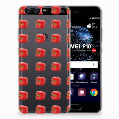 Huawei P10 Siliconen Case Paprika Red