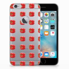 Apple iPhone 6 Plus | 6s Plus Siliconen Case Paprika Red