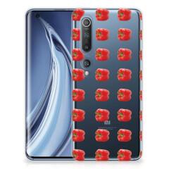 Xiaomi Mi 10 Pro Siliconen Case Paprika Red