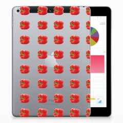 Apple iPad 9.7 2018 | 2017 Tablet Cover Paprika Red