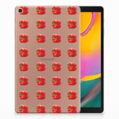 Samsung Galaxy Tab A 10.1 (2019) Tablet Cover Paprika Red