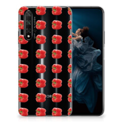 Honor 20 Siliconen Case Paprika Red