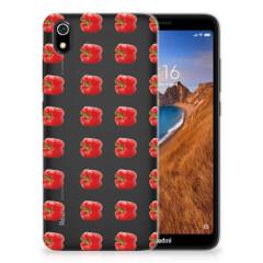Xiaomi Redmi 7A Siliconen Case Paprika Red