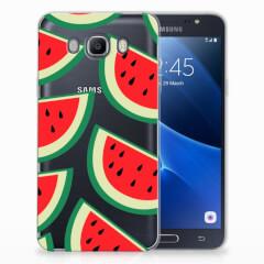 Samsung Galaxy J7 2016 Siliconen Case Watermelons