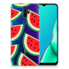 OPPO A9 2020 Siliconen Case Watermelons
