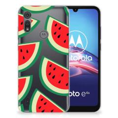 Motorola Moto E6s Siliconen Case Watermelons
