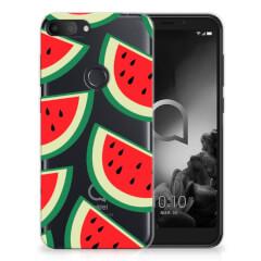 Alcatel 1S (2019) Siliconen Case Watermelons