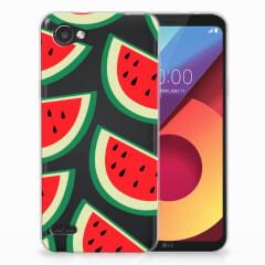 LG Q6   LG Q6 Plus Siliconen Case Watermelons