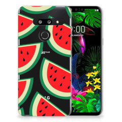 LG G8 Thinq Siliconen Case Watermelons