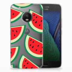 Motorola Moto G5 Plus Siliconen Case Watermelons
