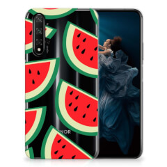 Honor 20 Siliconen Case Watermelons