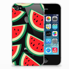 Apple iPhone 4 | 4s Siliconen Case Watermelons