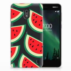 Nokia 2 Siliconen Case Watermelons