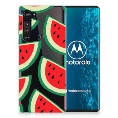 Motorola Edge Siliconen Case Watermelons