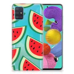 Samsung Galaxy A51 Siliconen Case Watermelons