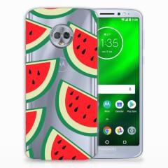 Motorola Moto G6 Plus Siliconen Case Watermelons