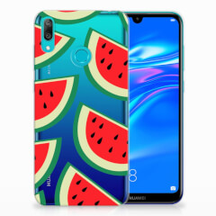 Huawei Y7 2019 Siliconen Case Watermelons