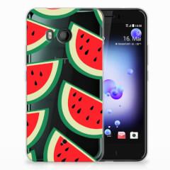 HTC U11 Siliconen Case Watermelons
