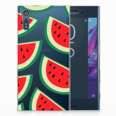 Sony Xperia XZs | XZ Siliconen Case Watermelons