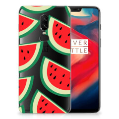 OnePlus 6 Siliconen Case Watermelons