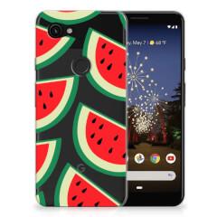Google Pixel 3A Siliconen Case Watermelons