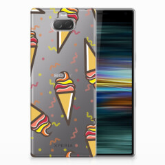 Sony Xperia 10 Plus Siliconen Case Icecream
