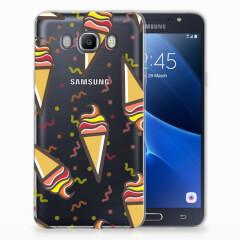 Samsung Galaxy J7 2016 Siliconen Case Icecream