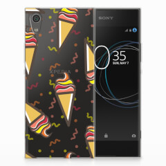 Sony Xperia XA1 Siliconen Case Icecream
